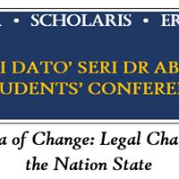 Tan Sri Dato Seri Dr Abdul Malek Law Students Conference 2018