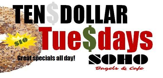 Ten Dollar Tuesdays