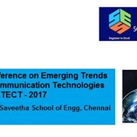International Conference on Electrical &amp Communications Tech