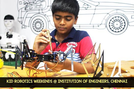 Chennai Robotic Weekend club at Institution of Engineers