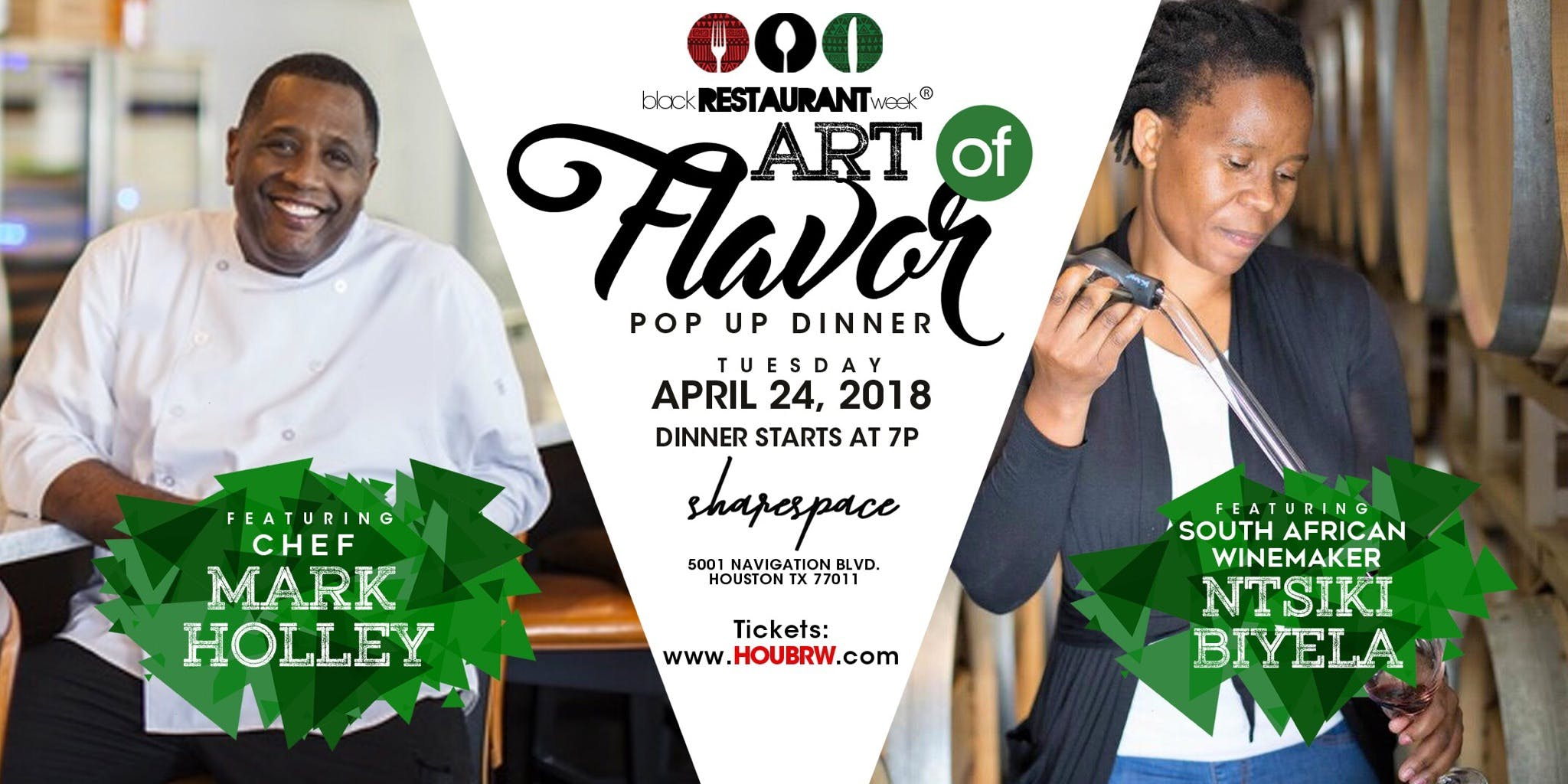 Art of Flavor Pop Up Dinner Featuring Chef Mark Holley