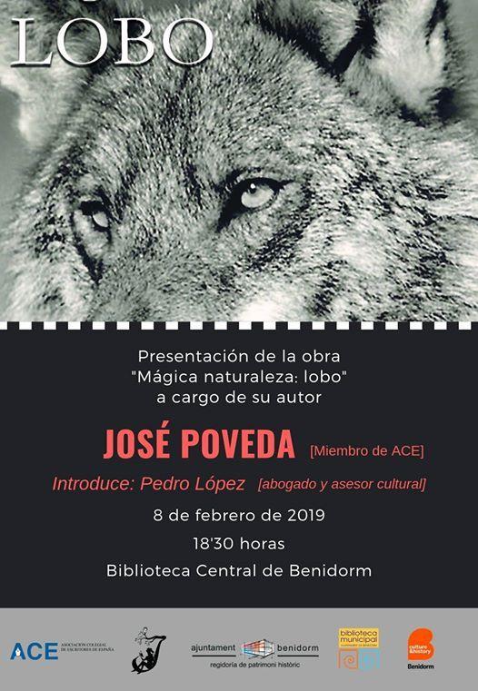 Presentacin libro Mgica naturalezalobo de Jos Poveda.