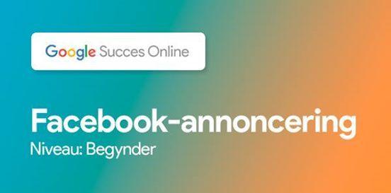 Gratis workshop Facebook-annoncering (niveau begynder)