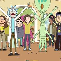 Rick &amp Morty House Party