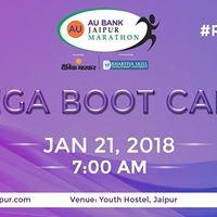 Mega Boot Camp - AU Bank Jaipur Marathon