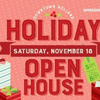Downtown Holland Holiday Open House