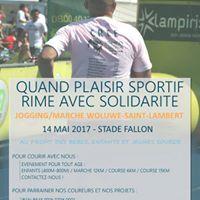 JoggingMarche de Woluwe-Saint-Lambert pour le CREE