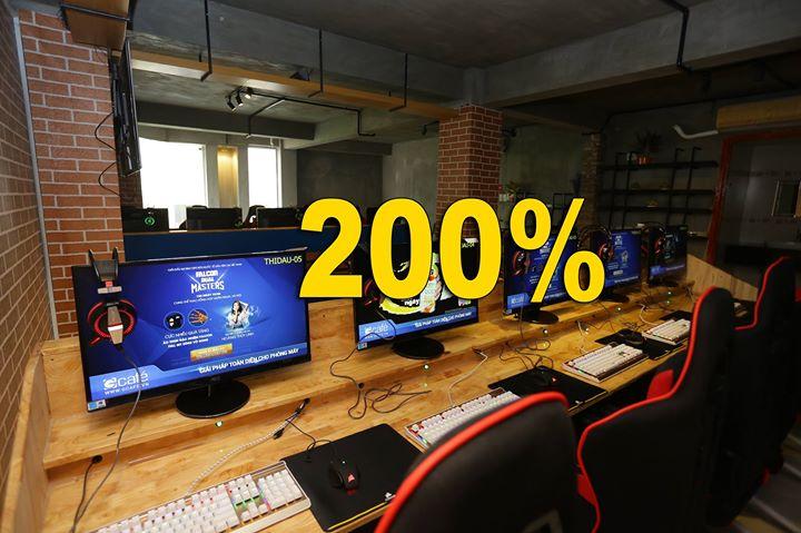 Tặng 200% giờ chơi 1 ngày duy nhất 19/07 - mừng ngày đặc biệt - 1 tháng  khai trương. at Adonis Icyber Gaming 21-23 Đồng Nai P.15 Q.10