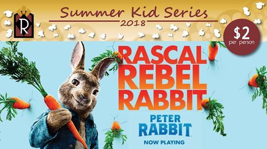 Summer Kid Series Peter Rabbit At Rogers Cinema Stevens Point