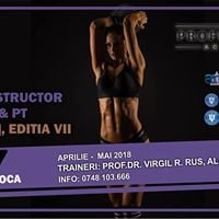 Curs Instructor Fitness si Antrenor Personal Level 1 CLUJ