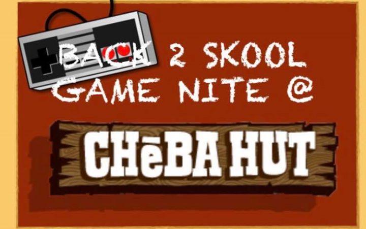 Back 2 Skool Game Nite  The Hut