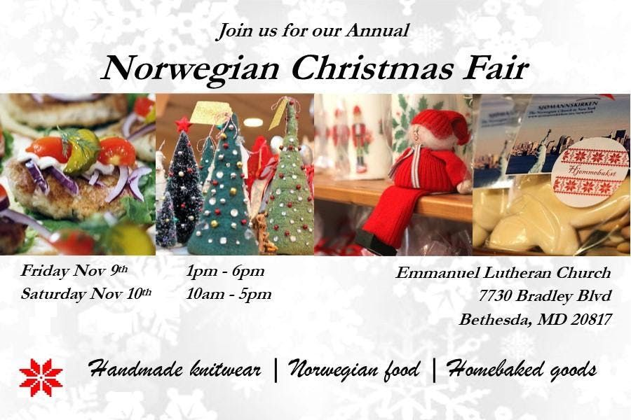 Norwegian Christmas Fair