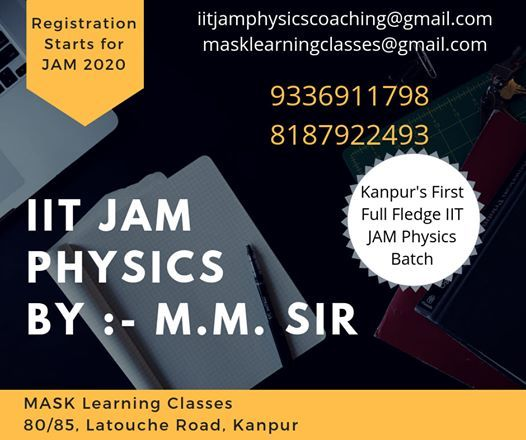 IIT JAM Physics First Batch Kanpur