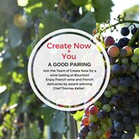 Bouchon Wine &amp Food Tasting benefiting Create Now