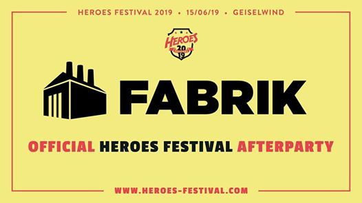 Official Heroes Festival Afterparty at Fabrik Bayreuth