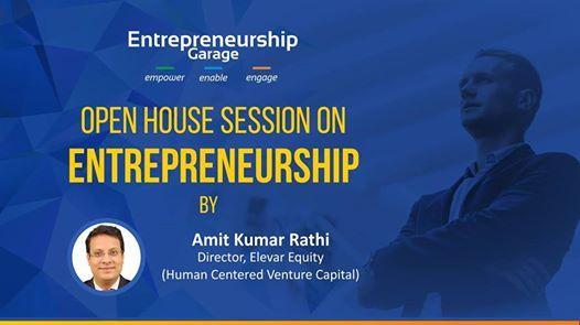 Open House Session on Entrepreneurship