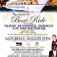 The Annual 767 Boat Ride
