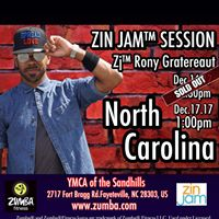 Sold Out Fayetteville NC  ZIN Jam Session w Zj Rony Gratereaut 12.17