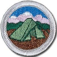 Camping Merit Badge at Boy Scouts of America, Los Angeles