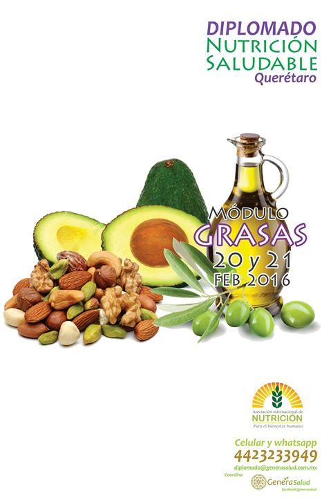 Diplomado De Nutricion Saludable Modulo Grasas At El Movi