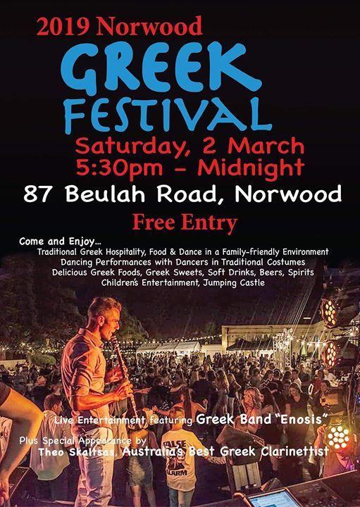Norwood Greek Festival 2019