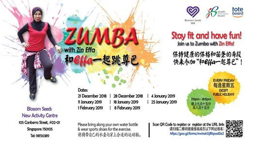 Singapore 105 Zumba 02 S750105 Canberra With At 01 Effa Street Zin qvvwfArI