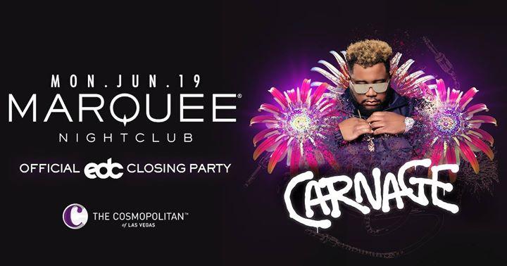 EDC Week Carnage at Marquee Nightclub