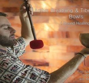 Active Breathing &amp Tibetan Singing Bowls - Sound Healing