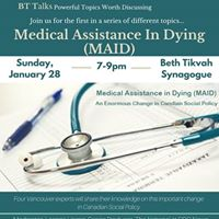 BT Talks- Medical Assistance In Dying