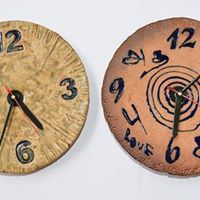 Ceramic Workshop -Decorative Wall Hanging and Clock