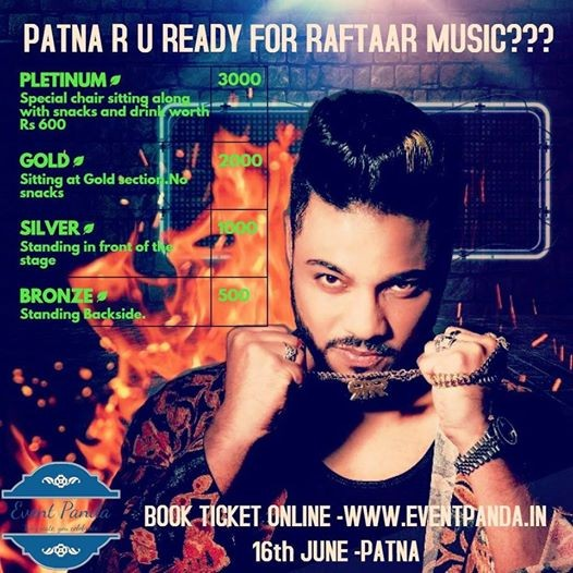Live Music Concert by Raftaar and Hardy