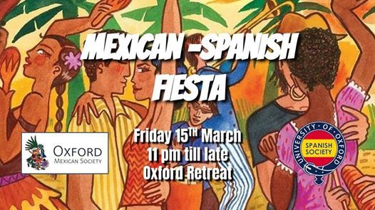 b329bc42f9 Mexican-Spanish Fiesta! at The Oxford Retreat