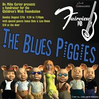 Blues Piggies in support of Childrens Wish Foundation