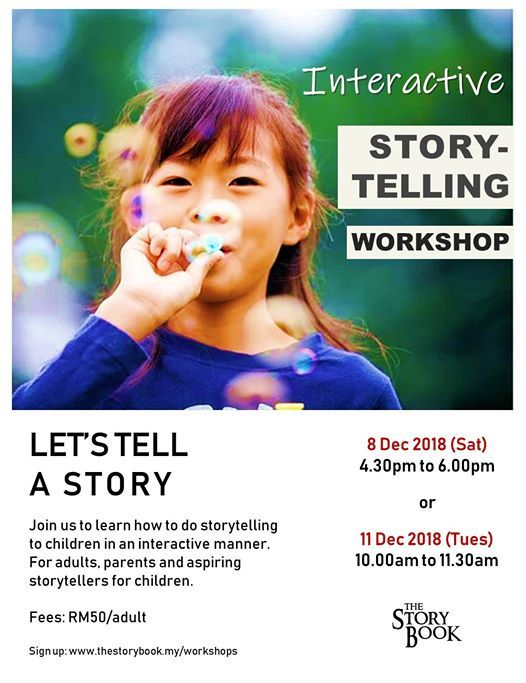 Interactive Storytelling Workshop for Adults