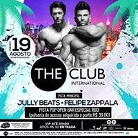 19.08 The Club Todos VIps at 1h  Pista POP OpenBar