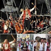 Gusarska bitka 2017.  Pirate battle 2017.