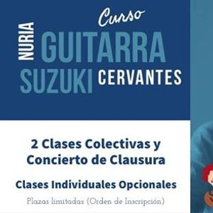 Curso Guitarra Suzuki con Nuria Cervantes 77c8d8340c0
