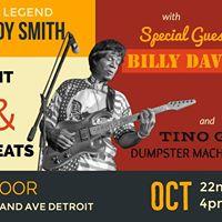 Dinner Concert with Buddy Smith Billy Davis Tino G &amp Dumpster Machine