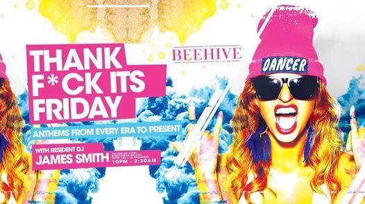 Thank FCK its Friday  21st December  Beehive Bar Belfast