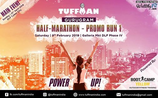 Tuffman Gurugram Half Marathon - First Promo Run
