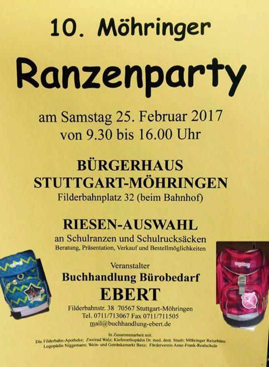 10 Mohringer Ranzenparty At Burgerhaus Mohringen Stuttgart
