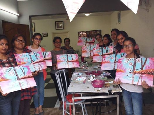 Acrylic colours workshop - Paint a Landscape (Beginner Weekday W