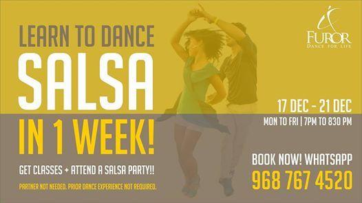 Learn To Salsa In 1 Week