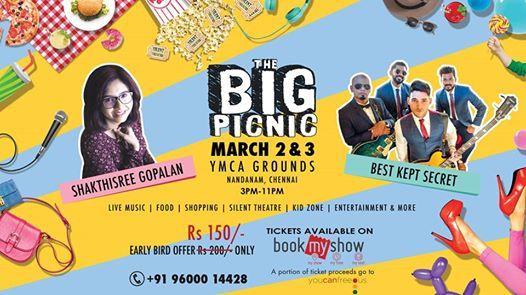 The Big Picnic - Biggest entertaining fun festival in Chennai