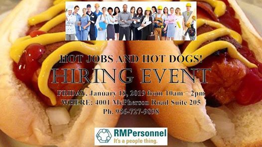 Hot Dogs for Hot Jobs