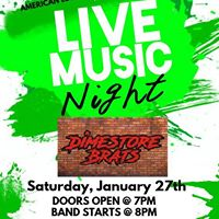LIVE Music with the Dimestore Brats