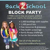 Back2School Block Party