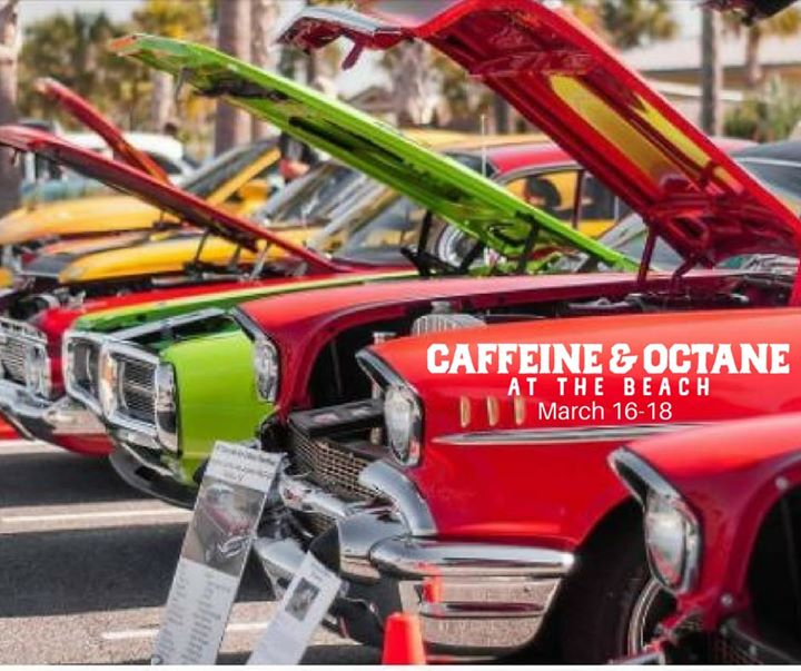 Caffeine Octane At The Beach Car Show At Jekyll Island Convention - Caffeine and octane car show schedule