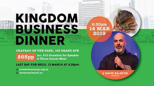 Kingdom Business Dinner