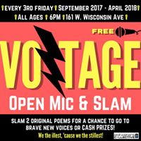 Voltage Open Mic and Slam
